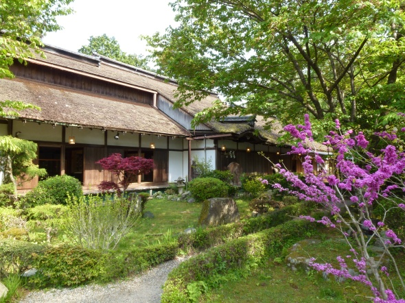 The main building is considered the oldest example of Shoin architecture, the relatively simple and open style on which the traditional Japanese house is based.