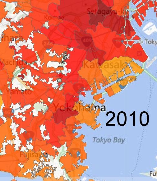 Mapping Japanese City Spaces: Greater Tokyo | perihele