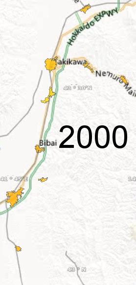 Sorachi Region, 2000