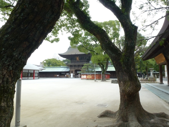 Thus, the shrine buildings have survived all the way from the 16th century, predating the Tokugawa Shogunate.